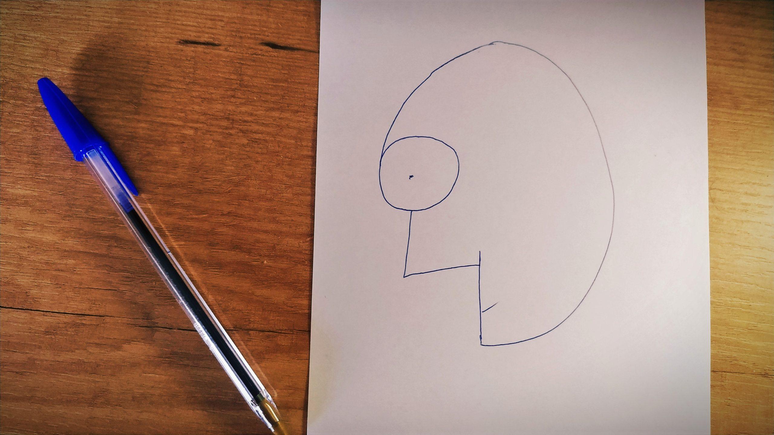 """Clase virtual de plástica para primaria: """"Con un 6 y un 4, la cara de tu retrato"""""""