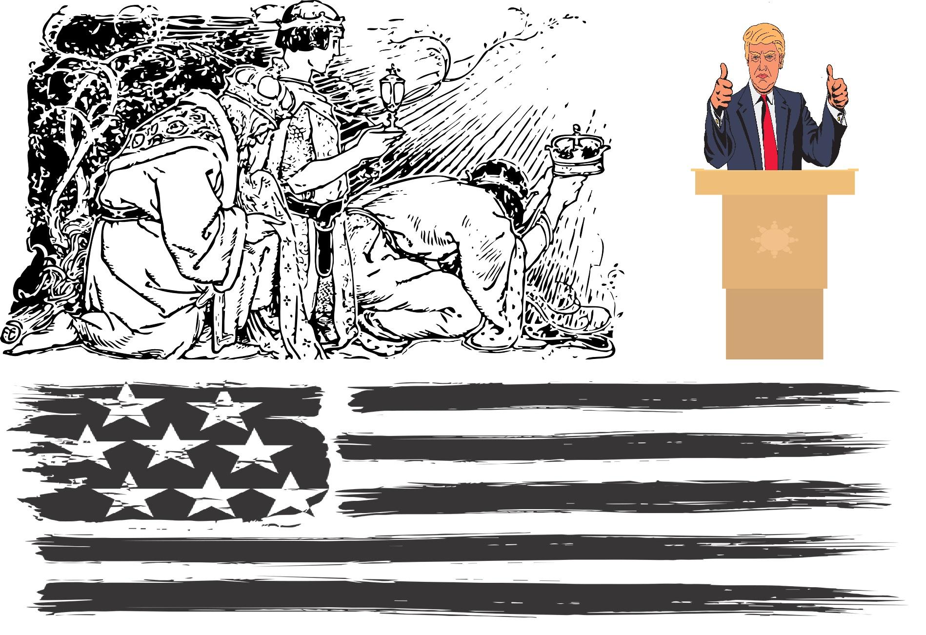 Trump le pide a los Tres Reyes Magos 11.780 votos más para asegurarse el trono de Presidente de los EE.UU.