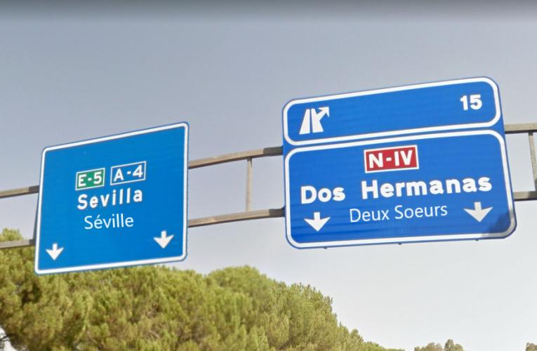 La DGT empieza a adaptar al francés todos los carteles de la carretera para los turistas galos